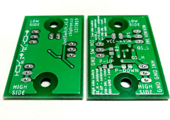 Modul JustSwitch v1.0 - Low side switch
