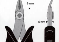 náhled - Štípací kleště jemné 180P - ESD